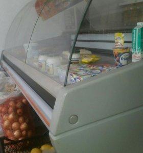 Витринный холодильник премьер