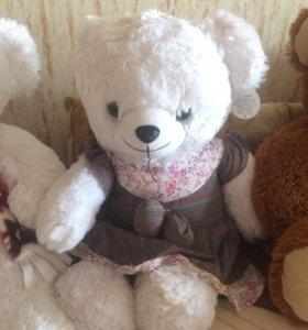 Игрушки мягкие медведь