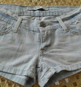 Шорты летние джинсовые