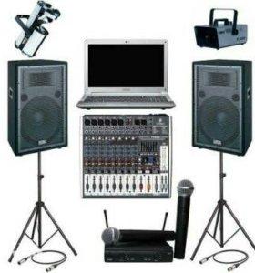 Диджей, DJ, свет, звук, проектор! Ведущий