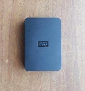 Внешний HDD WD Elements Portable на 2ТВ