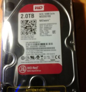 WD Red WD20efrx 2Тб