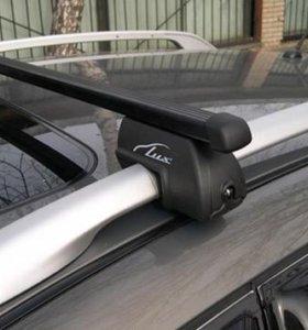 Новый багажник LUX классик, прямоугольные в пласти