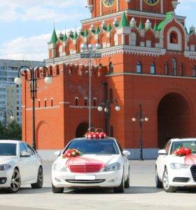 Свадебные кортежи BMW, Mercedes, Audi и другие