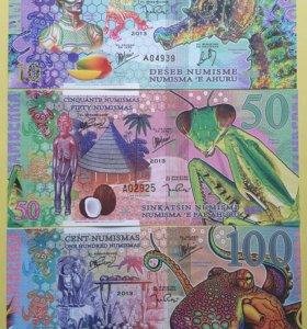 Камберра 10,50,100 нум 2013 год