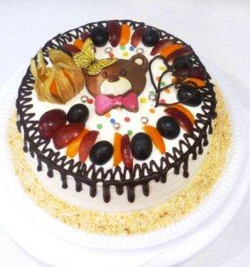 Вкуснейшие тортик! Свежий и натуральный!