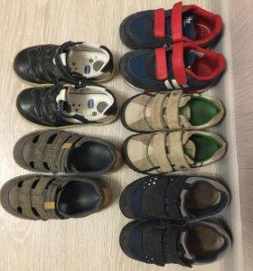 Обувь на мальчика р 27
