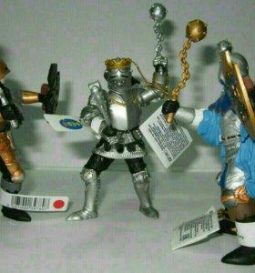 Рыцари с булавами, фигурки