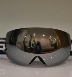 Горнолыжные очки/маска для сноуборда CRG Black
