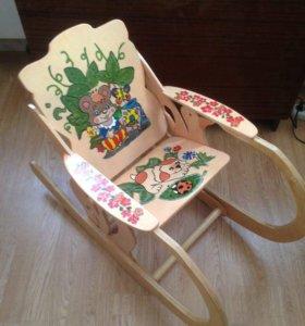 Детский стул качалка
