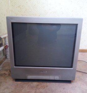 Тумба под телевизор и телевизор