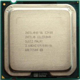 @ Процессор Intel Celeron dual core e3400 CPU 2