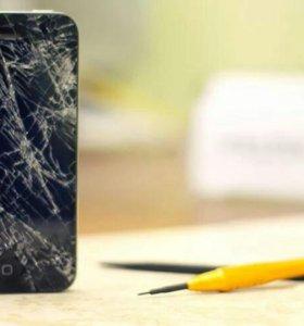 замена дисплейного модуля на айфон