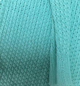Вязаное платье!