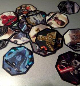 Комплект карточек звездные войны