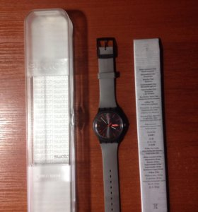 Часы Swatch Grey Rebel