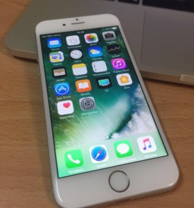 Iphone 6 128 gb silver РСТ