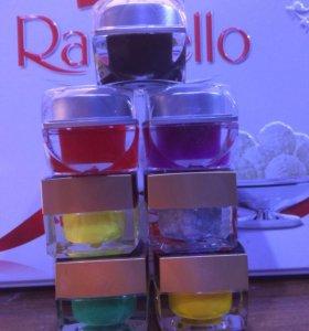 Цветные гели для наращивания и дизайна ногтей