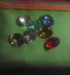 Кристалы для декора