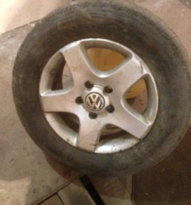 Колёса от Volkswagen r17