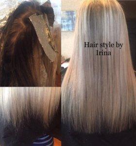 Колористика волос