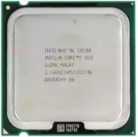 Процессор intel core 2 duo E-8500 3.16 MHz