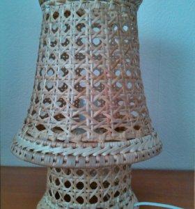 Светильник, Настольная лампа ручной работы