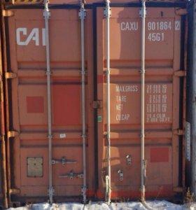 контейнер 20 фт 40 фт 87000₽ 40 фт 130000₽