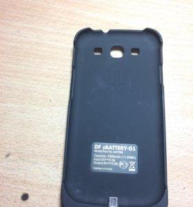 Бампер-зарядка для Samsung galaxy s3