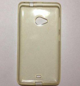 Ibox Crystal для Microsoft Lumia 535 (прозрачный)