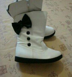 Новые ботинки демисезон 21.5см