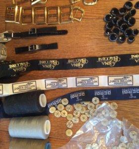 Пуговицы новые пряжки для пошива одежды