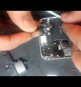 Замена АКБ на iphone.