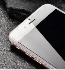 Защитные стекла на iPhone 6/ 6 Plus.