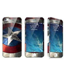 Стекла на iPhone 5, 5s