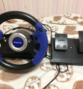 Игровой руль (консоль) для компьютера(ноутбука)
