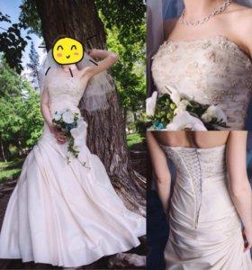 Свадебное платье дизайнера Натальи Романовой