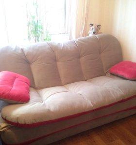 Новый диван-кровать с доп.местом для гостей