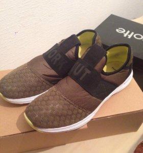 Тканевые кроссовки Mango