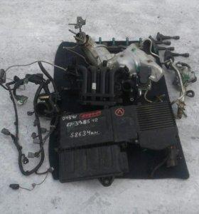 Запчасти на двигатель ZJ Mazda Demio