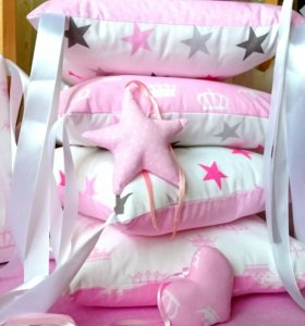 Подушечки бортики, одеяло - конверт на выписку!