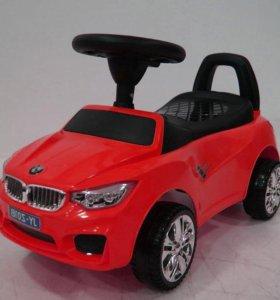 Машина толокар каталка BMW