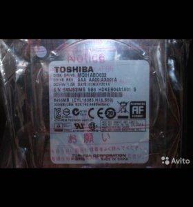 Новый жёсткий диск Toshiba 320 gb в упаковке