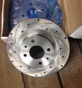 Тормозные диски Lada Sport R14 новые