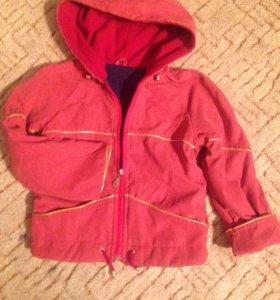 Курточка ветровка на подкладе