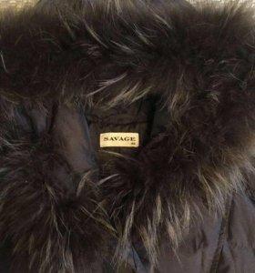 Пальто -пуховик Savage