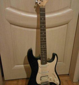 Гитара fender square и комбик borton audio bga2065