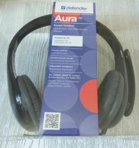 Гарнитура Defender Aura 111 чёрный лак
