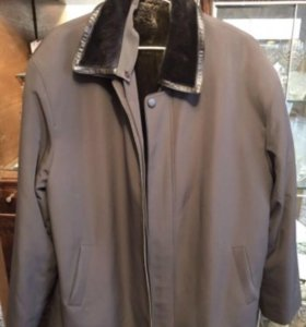 Пальто мужское натуральное