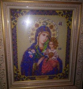 """Икона Поесвятой Богородицы """"Неувядаемый Цвет"""""""